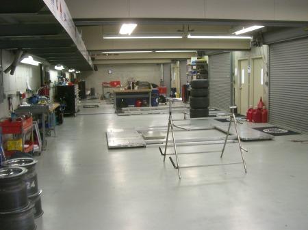 DRR garage empty