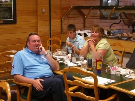 Mark & family