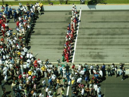 pre race pix from 9th fl,2005