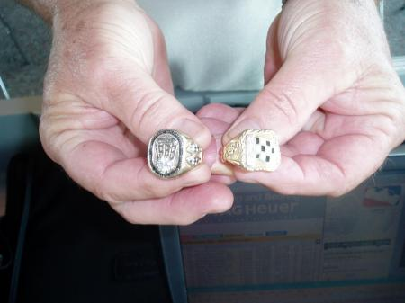 rodger ward jr and his dads rings